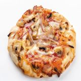 Mini pizza Pulled Pork BBQ